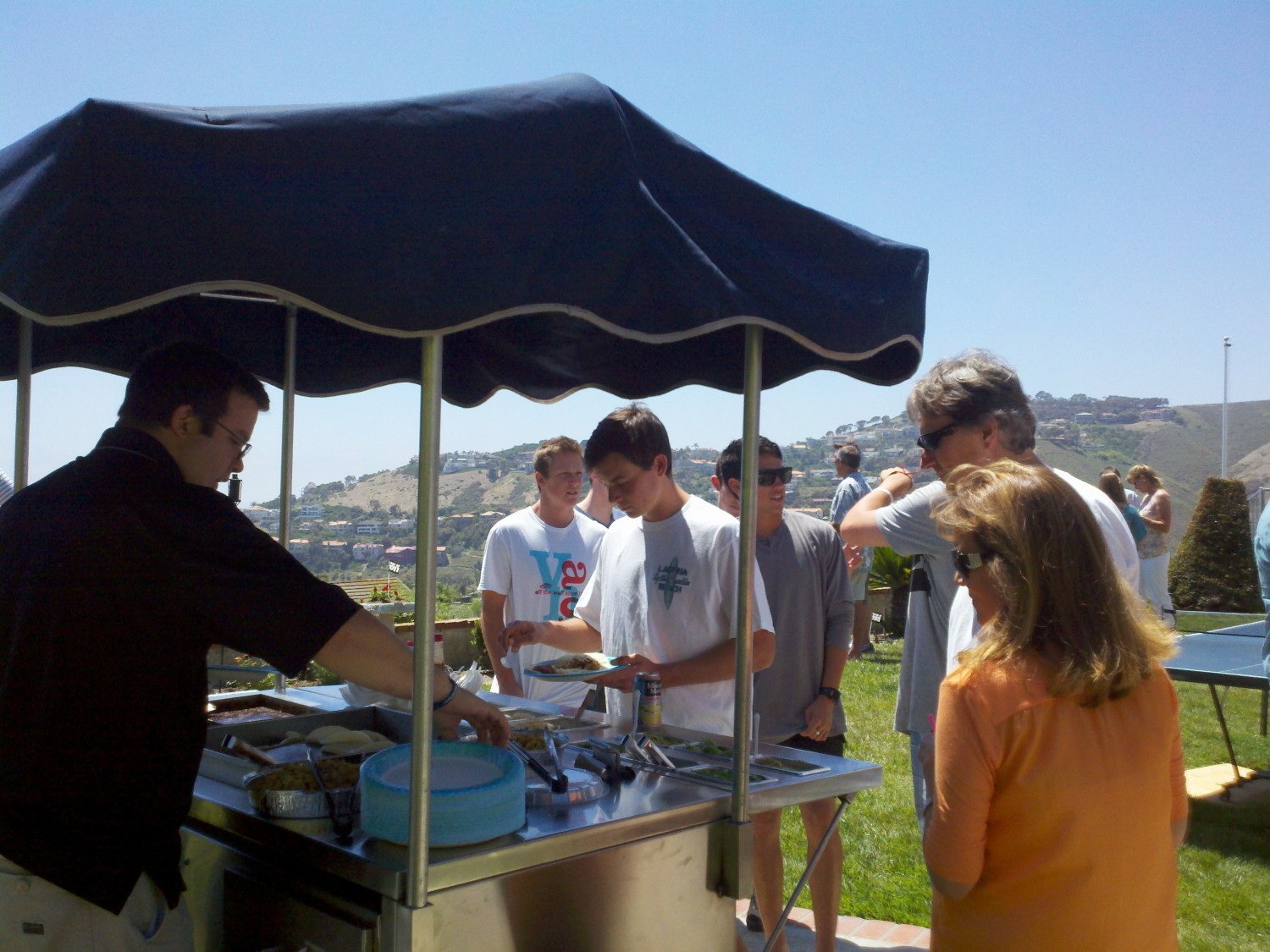 Newport Beach Taco Cart Party